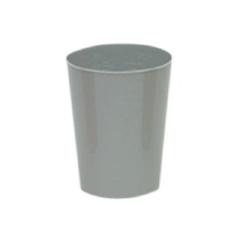 MON359116EA - Medegen Medical Products - 8 oz. Plastic Tumbler, Pewter, Disposable