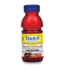 MON45992601 - Kent Precision FoodsThickened Beverage Thick-It AquaCareH2O 8 oz. Bottle Cranberry Ready to Use Nectar