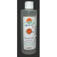 MON46012706 - CypressAlcohol Gel Hand Sanitizer Fresh Moment® 8 oz. Ethanol Squeeze Bottle, 36EA/CS
