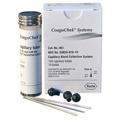 MON46102400 - RocheCoaguChek Capillary Tubes and Bulbs