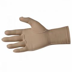 MON46157700 - Patterson MedicalCompression Glove Full Finger Medium Over-the-Wrist Left Hand Lycra / Spandex