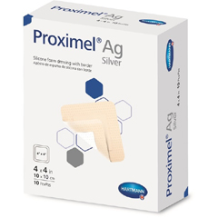 MON46692101 - Hartmann - Proximel® Ag Silicone Foam Dressing with Border (15200000)