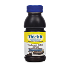 MON46702600 - Kent Precision FoodsThickened Beverage Thick-It AquaCareH2O 8 oz. Bottle Coffee Ready to Use Nectar