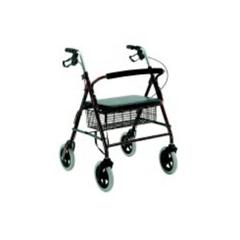 MON46713800 - Merits HealthBariatric Rollator Blue Aluminum