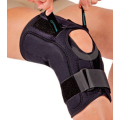 MON46883000 - Hely & WeberKnee Brace GK Origin Small D-Ring / Hook and Loop Strap Closure 21 to 22 Inch Thigh Circumference Knee, 1/ EA