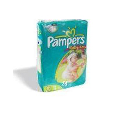 MON46893101 - Procter & GamblePampers Baby-Dry® Diapers (45217), Size 3, 28/PK