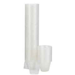 MON46941201 - McKesson - Medi-Pak™ Medicine Cups, 1 oz. Clear Polypropylene, 100 EA/PK