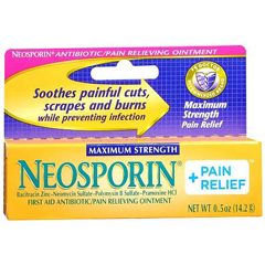 MON46962700 - Johnson & JohnsonNeosporin® + Pain Relief First Aid Antibiotic 0.5 oz. Cream