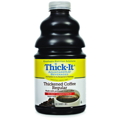 MON47002600 - Kent Precision FoodsThickened Beverage Thick-It AquaCareH2O 64 oz. Bottle Coffee Ready to Use Honey