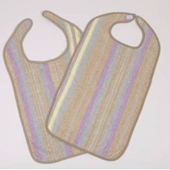 MON47091000 - HospitexBib Hook and Loop Reusable Terry Cloth, 12EA/DZ