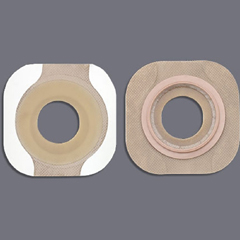 MON47094900 - HollisterColostomy Barrier New Image Flextend Pre-Cut, Extended Wear Tape 2-1/4 Inch Floating Flange Red Code 1-3/4 Inch Stoma