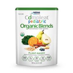 MON1092415EA - Nestle Healthcare Nutrition - Compleat® Pediatric Organic Blends Oral Supplement / Tube Feeding Formula,