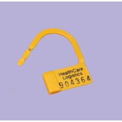MON540700PK - Health Care Logistics - Heavy-Duty Padlock Seal Health Care Logistics Numbered Red Acetal Resin, Delrin 1 X 1-1/2 Inch, 100/PK