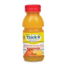 MON47882601 - Kent Precision FoodsThickened Beverage Thick-It AquaCareH2O 8 oz. Bottle Orange Ready to Use Honey