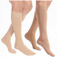 MON48100300 - JobstRelief Knee-High Full-Calf Anti-Embolism Compression Stockings
