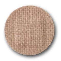 MON466870CS - McKesson - Adhesive Spot Bandage Medi-Pak Performance 1 Diameter Fabric Round Tan Sterile
