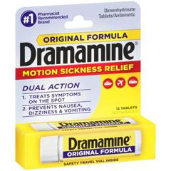 MON48192700 - Medtech LaboratoriesNausea Relief Dramamine 50 mg Strength Tablet 12 per Bottle