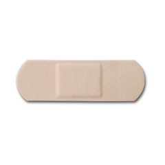MON48212000 - McKesson - Adhesive Strip Medi-Pak™ Performance Sheer 1 X 3 Rectangle Beige, 100EA/BX