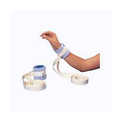 MON48373000 - PoseyAnkle / Wrist Restraint One Size Fits Most Hook and Loop Closure / Slide Buckle 2-Strap