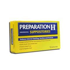 MON48901400 - PfizerHemorrhoid Relief Preparation H Suppository 12 per Box