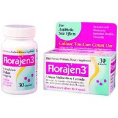 MON49102700 - American LifelineFlorajen3® Probiotic Dietary Supplement, 30 per Bottle