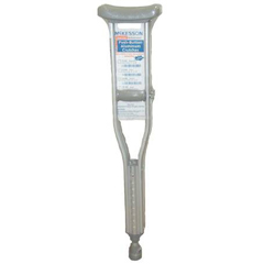 MON49203800 - McKessonUnderarm Crutch SunMark® Performance Aluminum Youth 300 lbs.