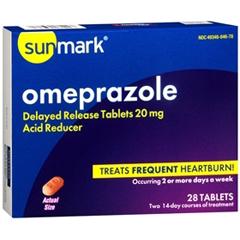 MON49352700 - McKessonAntacid Sunmark® Tablets, 28EA per Bottle