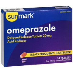 MON49362700 - McKessonAntacid Sunmark® Tablets, 14EA per Bottle
