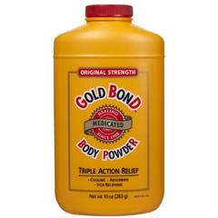 MON49451600 - ChattemBody Powder Gold Bond 4 oz. Menthol Scent