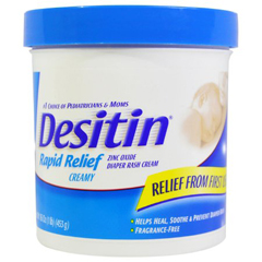 MON1068610EA - Johnson & Johnson - Desitin® Rapid Relief Diaper Rash Treatment (10074300495160)