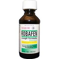 MON49582700 - Major PharmaceuticalsCough Relief Robafen 100 mg Strength Liquid 4 oz.