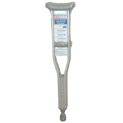 MON49703808 - McKessonUnderarm Crutch Aluminum Tall Adult 300 lbs.