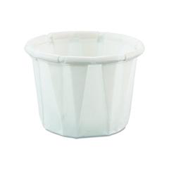 MON50001200 - SoloSolo Souffle Cup .5 oz. White Paper, 250EA/PK 20PK/CS