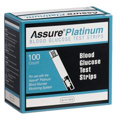 MON50102410 - ArkrayAssure® Platinum Blood Glucose Test Strips