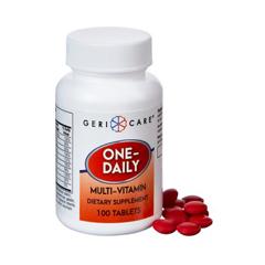MON50112712 - McKessonMultivitamin Supplement Tablet 100 per Bottle