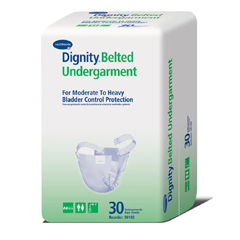 MON50123104 - HartmannAdult Incontinent Belted Undergarment Ultrashield® Pull On One Size Fits Most Disposable Moderate Absorbency