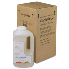 MON50154601 - Simply ThickFood Thickener Gel - Bottle, 64 oz. without Pump