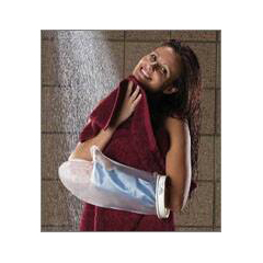 MON50253000 - Brown MedicalLeg Cast Protector SEAL-TIGHT Large Polyvinyl