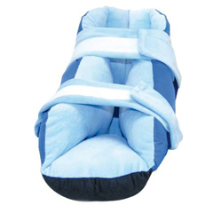 MON50343000 - Skil-CareHeel Protector Boot Super Soft® One Size Fits Most Blue