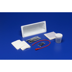 MON50351920 - MedtronicKenguard Intermittent Catheter Tray  Open System 14 Fr. Red Rubber