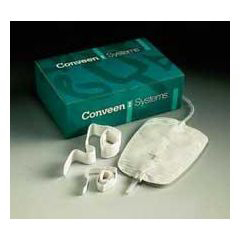 MON50621900 - Coloplast - Conveen XL Leg Bag/Bedside Drainage Bag Antireflux Non Sterile NoLatex Tubing