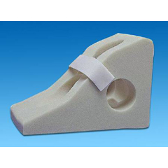 MON50643000 - Span AmericaHeel Float Span+Aids® Cradle Boot One Size Fits Most White