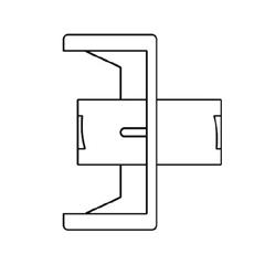 MON148357CS - B. Braun - Connector, Fluid Dispensing, 100 EA/CS