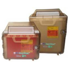 MON761799EA - BD - Recykleen™ Sharps Locking Wall Mount Cabinet