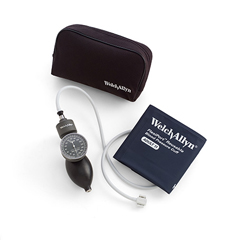 MON50982500 - Welch-AllynAneroid Sphygmomanometer Tycos® Palm Style Hand Held 1-Tube Adult Arm