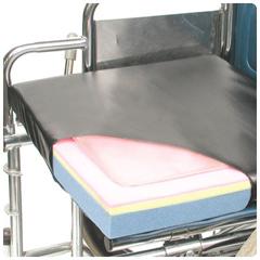 MON51094300 - Patterson MedicalSeat Cushion Lacura® Q-Gel 16 X 18 X 2 Inch Gel / Foam