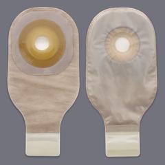 MON51184900 - HollisterPremier Drainable Pouch, Pre-Sized Convex Flextend Skin Barrier, with Tape, Transparent, 5EA/BX