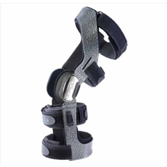 MON51213000 - DJO - Knee Brace Armor Fourcepoint Medium Hook and Loop Straps 18-1/2 to 21 Circumference Right Knee