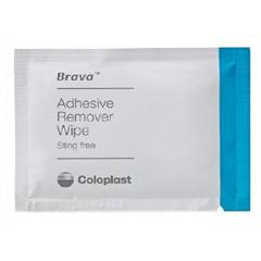 MON51234900 - ColoplastAdhesive Remover Brava Wipe 30 per Box