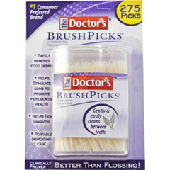 MON51571700 - Medtech LaboratoriesInterdental Toothpicks Doctors BrushPicks White Adult